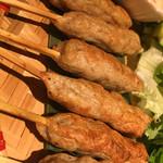 ベトナムキッチン アンヴィエット - ネムルイのつくね串