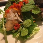 ベトナムキッチン アンヴィエット - ネムルイ!自分流の生春巻きが出来ます♪