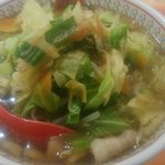 69071956 - 野菜たっぷりラーメン794円(税別)