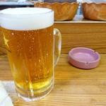 盛升 - 2017年4月 生ビール特大【850円】デカっ( ゚Д゚)