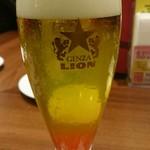 銀座ライオン - ビアカクテル(夕張メロン)