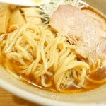 山崎麺二郎 - 2017年4月 麺の具合