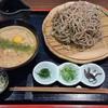 眞智蕎麦 - 料理写真:つけそば(とろろ汁)大盛り1280円+300円。