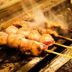 炭火串焼き 鶏せんぼん - 砂肝です
