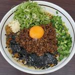 麺屋 はなび - 料理写真:九条ネギ台湾まぜそばチーズ入り