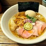 Homemade Ramen 麦苗 - '17.06冷やし(にぼらあ)