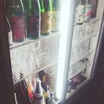 餃子小舎喜口 - お酒•••冷えてます