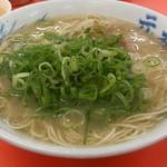 元祖長浜屋ラーメン - ・ラーメン 500円