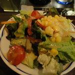 酒房食堂 dish - ドレッシングがおいしかった