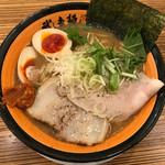 武者麺 SEA - 魚介醤油とんこつ大盛 ※味玉トッピング