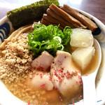 我流麺舞 飛燕 - 期間限定 冷たい貝出汁鶏醤油