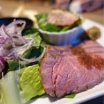 熟成肉バル ギフウッシーナ - 前菜から肉尽くし