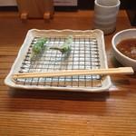 竹屋 - 料理写真:ししとうの天ぷら(単品)。