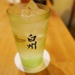 焼肉・塩ホルモン 三ちゃん - 白州ハイボール