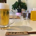 69084771 - 生ビール キリン一番搾り 480円。