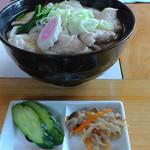 ゑびす庵 - H29年6月、肉うどん(700円)