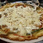 韓国料理 サムギョプサル どやじ - チーズチヂミ