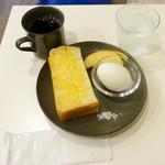 ピエニヨキコーヒー - モーニングコーヒーセット550円、ヴィルタブレンド