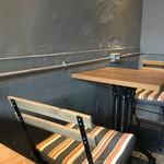ディゾン - テーブル席