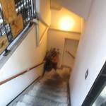 リストランテ ラ チャウ - 地下への階段