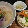 ORIBE - 料理写真:鶏白湯麺、ランチセットC