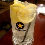 三蔵 - 瀬戸内名物 生レモンサワー:519円