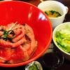 B団 - 料理写真:A5宮崎牛のローストビーフ丼¥1390