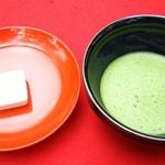 69094144 - お抹茶(お菓子付き)