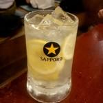三蔵 - 替え玉レモンサワー:411円