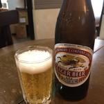 台湾料理 千 - 瓶ビール