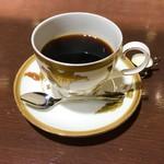 あべのカツサンドパーラー ロマン亭 - コーヒーもちょっと濃いめが美味しい♪