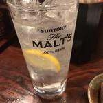 小倉山 - レモンサワー