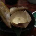 府中Dining&Bar レストハウス - ホッケの唐揚げも仲はジューシー。
