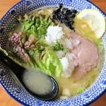 麺やまだ - 濃厚鶏そば(大盛)