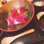 69100326 - 三崎のマグロ丼 1,650円