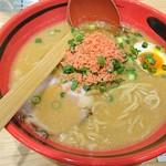 えびそば 一幻 - 味わい醤油の細麺(780円)