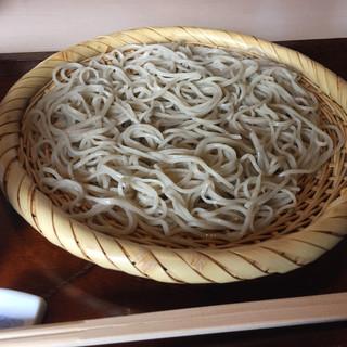 淡路翁 - 料理写真:ざるそば