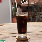 BAREBURGER - セットのアイスコーヒー