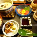 新の家 - 料理写真:大茶碗蒸し定食