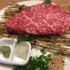 焼肉問屋くに家 - 料理写真:●ももステーキ●肉厚で甘みと旨みがジュワ〜って感じです。
