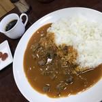 下町カレー ヒーハー - ヒーハーカレー(並盛)750円