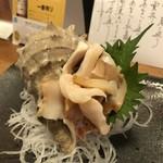 69107285 - ニシ貝の造り