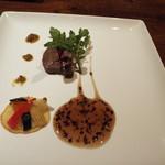 中原 - 黒毛和牛のステーキ