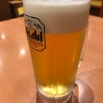 幸楽苑 - 生ビール