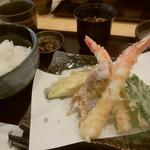 69110121 - 天ぷら定食