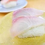 活魚寿司 - 2017年4月 泳ぎかんぱちいけす活魚【180円】