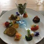 リストランテ マツシマ - 前菜盛り合わせ