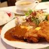 レストランもり - 料理写真:2017年4月 ハンバーグ・カラアゲセット【900円】