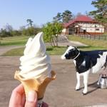 大山まきば みるくの里 - 2017年4月 ソフトクリーム【350円】