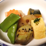 山ぶきの里 - セットの煮物